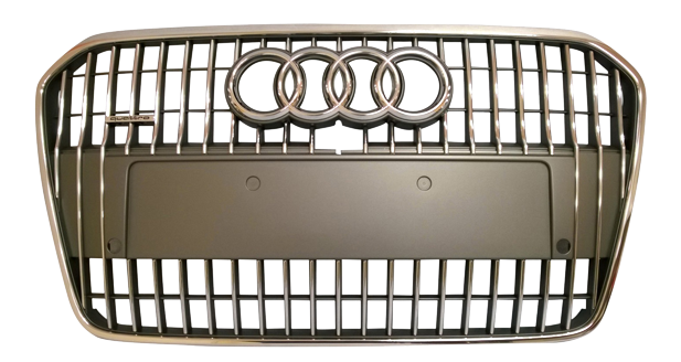 Plastic mould for Audi radiator grille
